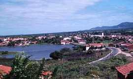 S�o Jos� da Lagoa Tapada - S�o Jos� da Lagoa Tapada-PB-A lagoa e a cidade-Foto:Francisco Severo