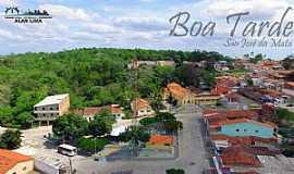São José da Mata - São José da Mata-PB-Vista do centro da cidade-Foto:Alan Lima