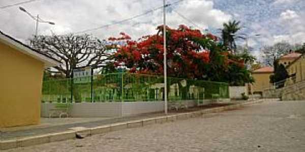 São José da Mata-PB-Centro da cidade-Foto:Facebook