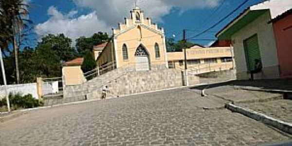 São José da Mata-PB-Igreja Matriz-Foto:Facebook