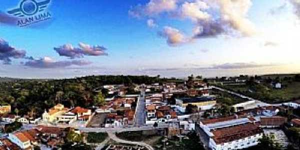 São José da Mata-PB-Vista parcial da cidade-Foto:Alan Lima