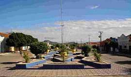 São José do Sabugi - São José do Sabugi-PB-Praça central-Foto:Wânder Rudney