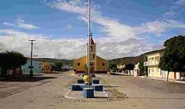 São José do Sabugi - São José do Sabugi-PB-Praça e Igreja-Foto:Wânder Rudney