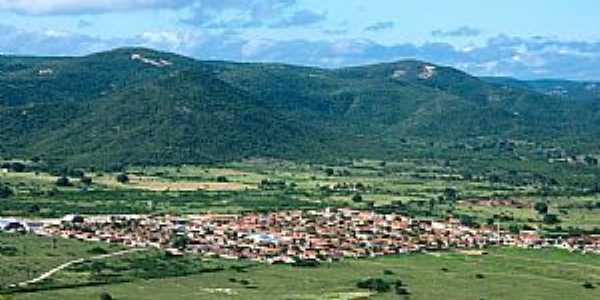 São José do Sabugi-PB-Vista da cidade e região-Foto postada por:Lô Marques