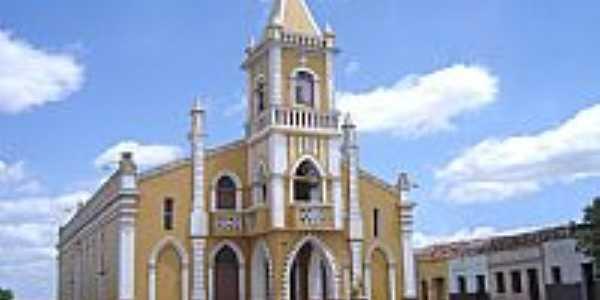 Matriz de São Sebastião em São Sebastião de Lagoa de Roca-PB-Foto:Vicente A. Queiroz