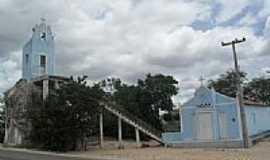 Cacimbinhas - Igreja Pedra do Padre-Foto:Sergio Falcetti