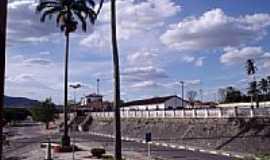 Carrapichel - Carrapichel-BA-Local da antiga Estação Ferroviária-Foto:www.estacoesferroviarias.com.br