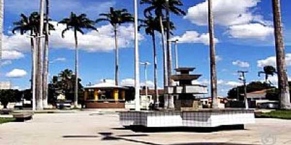 Sapé-PB-Praça central-Foto:Cidades do Mundo