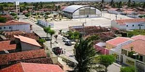 São Vicente do Seridó-PB-Vista do centro-Foto:clicknasnoticia.blogspot.com