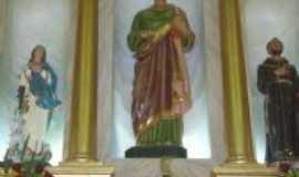 Serra Redonda - altar da igreja de serra redonda, Por dinho mathias