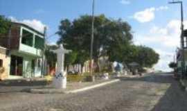 Serra Redonda - Pra�a central, Por Val�ria Alves