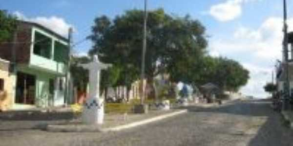 Praça central, Por Valéria Alves