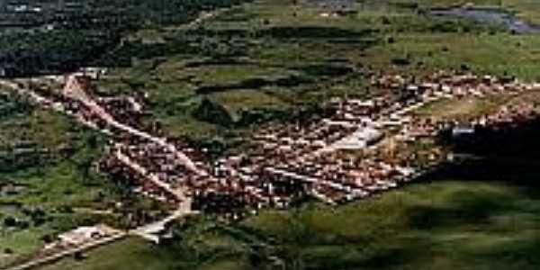 Vista panorâmica da cidade de Sertãozinho-Foto:rosachoqueeoutrascores.