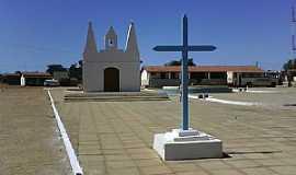 Casa Nova - Casa Nova-BA-Igreja no centro do Povoado de Lago-Foto:Adalberto Eletricista