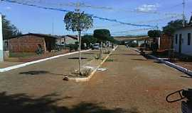 Casa Nova - Casa Nova-BA-Rua principal do Povoado de Lagoa dos Negros-Foto:Adalberto Eletricista