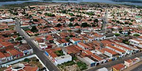 Casa Nova-BA-Vista aérea da cidade-Foto:casanova.ba.gov.br