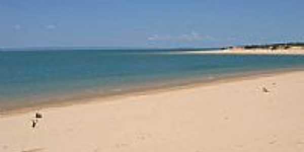 Praia do Rio S�o Francisco em Casa Nova -BA-Foto:Domingos Cardoso