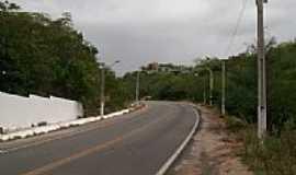 Sumé - Saída da cidade de Sumé-PB-Foto:@ivandrobqueiroz