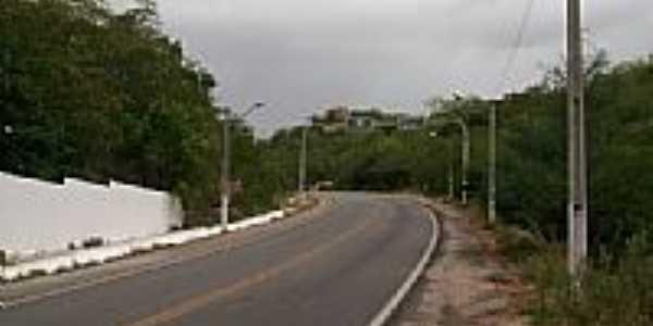 Saída da cidade de Sumé-PB-Foto:@ivandrobqueiroz