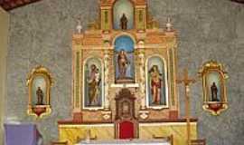 Tacima - Altar da Capelinha de Santos Reis em Tacima(Campo de Sant´Ana)-PB-Foto:Edneide Sousa