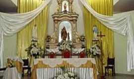 Tacima - Altar da Igreja Matriz de Sant´Ana em Tacima(Campo de Sant´Ana)-PB-Foto:Edneide Sousa