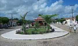 Tacima - Praça em Tacima(Campo de Sant´Ana)-PB-Foto:Edneide Sousa
