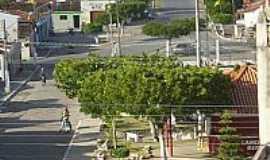 Tacima - Praça no centro de Tacima(Campo de Sant´Ana)-PB-Foto:Edneide Sousa