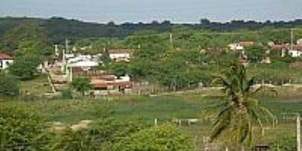 Vista parcial de Tacima(Campo de Sant´Ana)-PB-Foto:Edneide Sousa