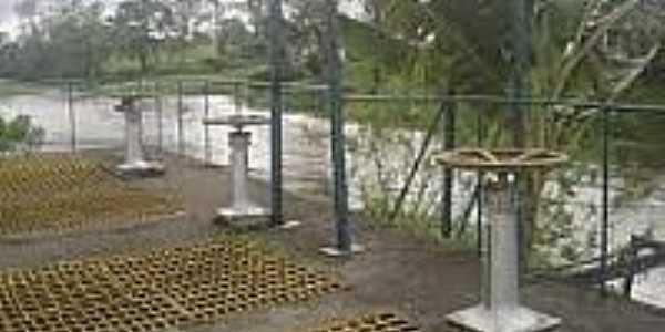 Estação de Tratamento de Água de Castelo Novo -BA-Foto:avozeavezdajuventude.