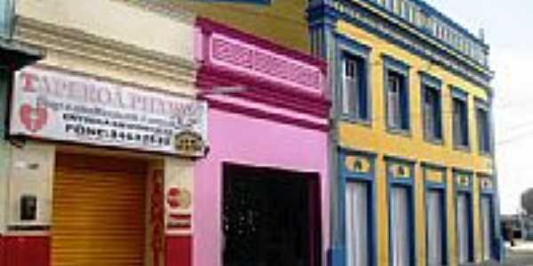 Casario no centro de Taperoá-PB-Foto:Calixto R. Pires