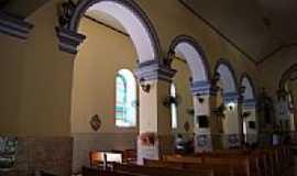 Teixeira - Interior da Igreja Matriz-Foto:RICARDO SABADIA