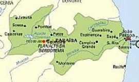Teixeira - Mapa