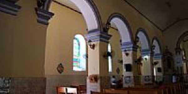 Interior da Igreja Matriz-Foto:RICARDO SABADIA