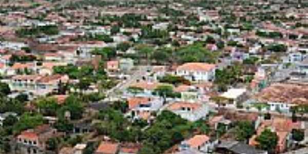 Vista da cidade de Castro Alves-BA-Foto:George Bitencourt