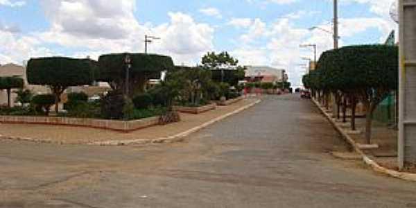 Afrânio-PE-Praça central-Foto:Jorge Hirata