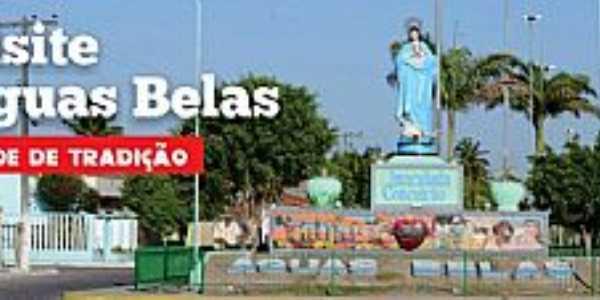 Águas Belas-PE-Imagem de N.Sra.da Conceição na entrada da cidade-Foto:blogdoruimedeiros.