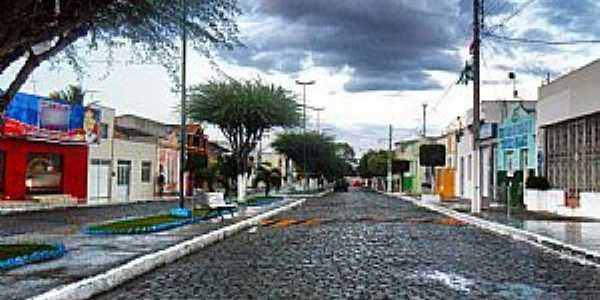 Alagoinha-PE-Avenida principal-Foto:Novais Almeida