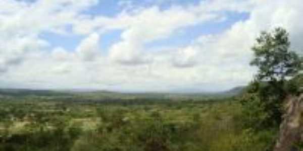 Vista do do Alto da Pedra do Letreiro, Por Gustavo Andrade