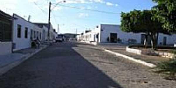 Praça e avenida de Catingal-BA-Foto:Agência AM