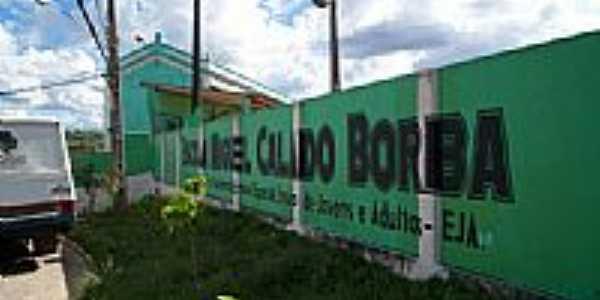 Escola Miguel Calado Borba-Foto:Elio Rocha