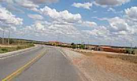 Arizona - Rodovia no Povoado de Arizona-Foto:Jorge Hirata