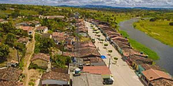 Imagens da Vila de Barra do Riachão no Município de São Joaquim do Monte-PE
