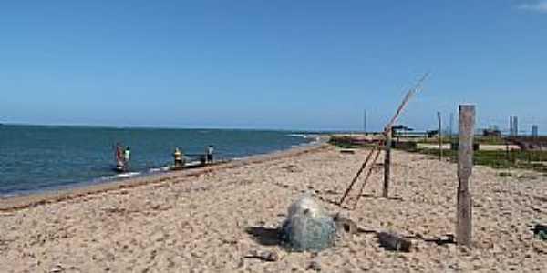 Barra do Sirinhaém-PE-Visão da praia-Foto:iverson magalhaes