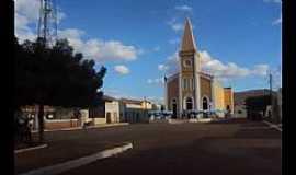 Bernardo Vieira - Bernardo Vieira-PE-Praça e Igreja Matriz-Foto:Creuza Melo