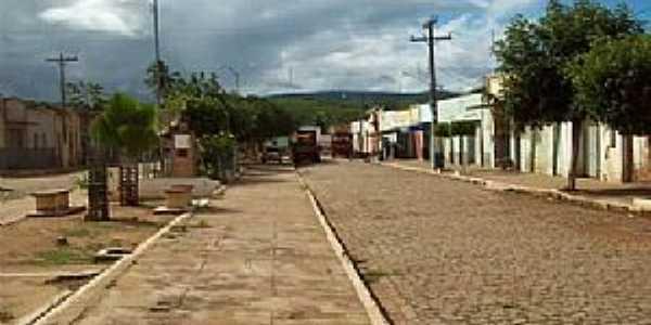 Bernardo Vieira-PE-Avenida principal-Foto:Creuza Melo