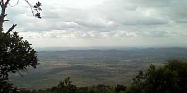 Vista da Serra Negra Bezerros PE - por Jupira Souza