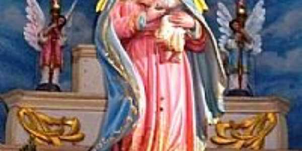 Imagem de N.Sra.do Bom Conselho no Altar da Igreja em Bom Conselho-PE-Foto:james.patrik