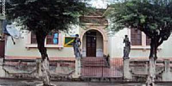 Biblioteca Pública Municipal em Bom Jardim-PE-Foto:Sergio Falcetti