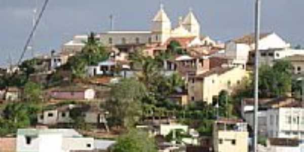 Vista do centro de Bom Jardim-PE-Foto:Delinha