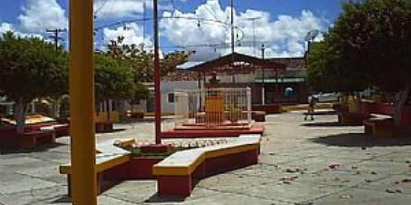 Cabanas-PE-Praça no centro-Foto:Edson Pontes Belo